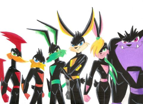 loonatics unleashed coloring pages - photo#26