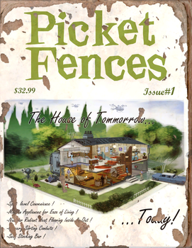 Picket Fences #1 Book - Fallout 4 by PlanK-69