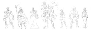The Old Gods: Character Design by GavinMichelli