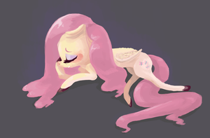 Fluttershy by TwitchyKismet