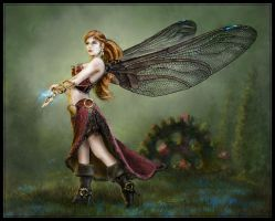 Steampunk Aphrodite by Eclectixx