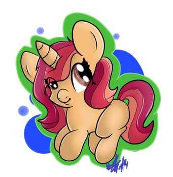 :CE1: Little Filly Wine Topple by Thatburdy