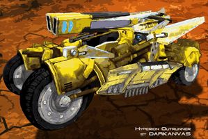 Hyperion Outrunner by Darkanvas