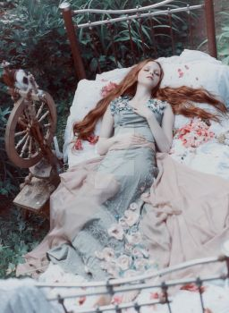 Sleeping Beauty by antiquecameo
