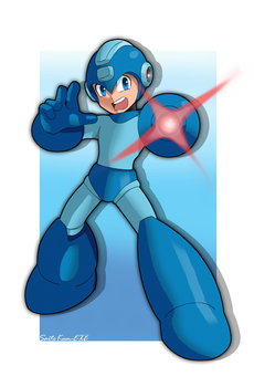 MegaMan The Blue Bomber! by SaitoKun-EXE