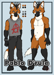 Ref Sheet - Pablo D'rule by shiverz