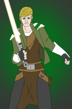 Jedi Sentinel Character by GreenMachine066