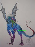 Sizzy Raptor Color Explosion by SizzyBubbles