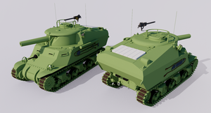 T60E3 Howitzer Motor Carriage by TheoComm