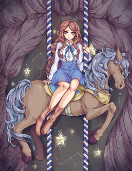 nursery constellation by lackless