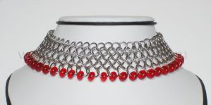 Beaded Collar by LadyLockeout