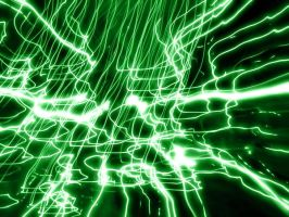 Green Light Swirls by ImageAbstraction