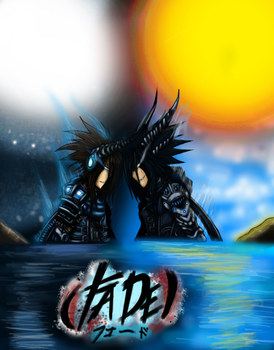 Manga Cover Page Colored :D by Agyron