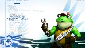 Slippy Toad Wallpaper by JECBrush
