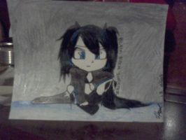 Black Rock Shooter | Hazel's Fiction Life by HazelFictionLife