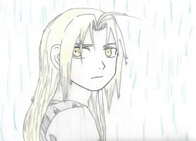 In the Rain by NayruElric
