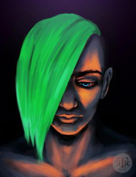 Feeling Neon - Speed Paint by To-Ka-Ro