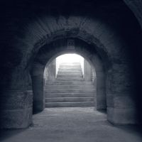 Old Stairway to Antic Hell - square by Pierre-Lagarde