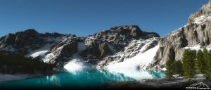 Ice Cold Water by 3DLandscapeArtist