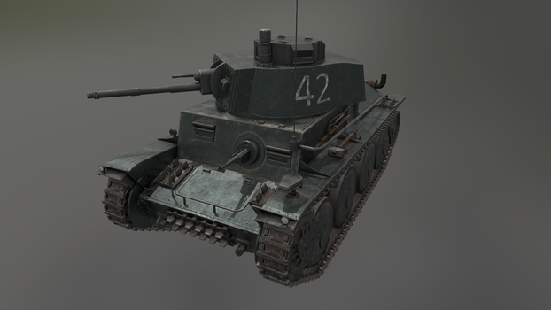 PzKpfw 38(t) 8 by LordTruewulf