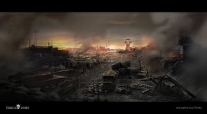 Militar environment Deadlight by LuisTomas