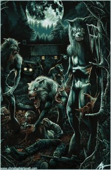 DOG SOLDIERS - CHRISTOPHER LOVELL - FRIGHT RAGs by Lovell-Art