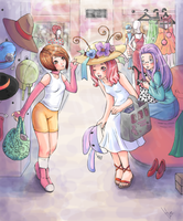 Shopaholics by digilife-gallery