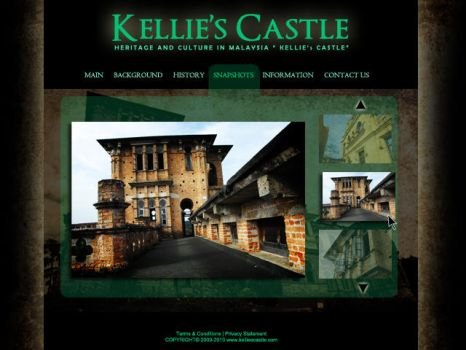 Kellies Castle Interface by Lomokikuyu