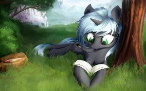 Quantum Flash: Mid-day Reading Session by AurelleahEverfree