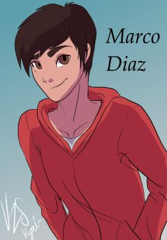Star vs the forces of evil: Marco Diaz by Kyoei-San