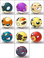 New Pokeball Collection by Bestary