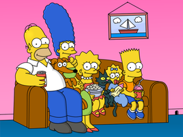 The Simpsons Family by Simpsonix