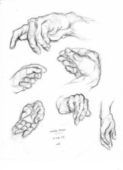 Hand study by Aamilie