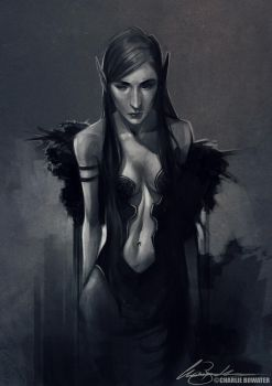 Sketch XV by Charlie-Bowater