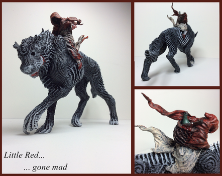 Little red gone mad... by ClawsUnion