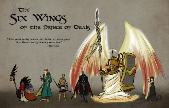 The Six Wings by Skyserpent