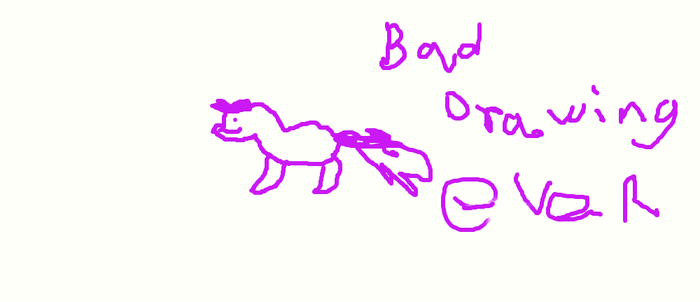 worst drawing ever by djpon3432