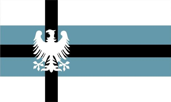 Flag of the Nordic Empire by ghostly-fennek