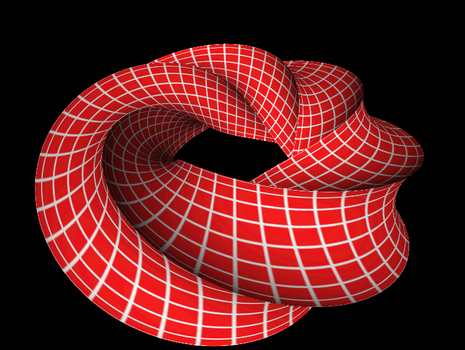 Twisted Multi Sided Torus by MathMod