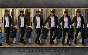 Robert Pattinson shopping in NYC - March 1st, 2012 by Maysa2010