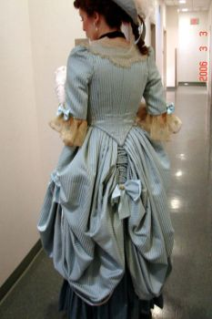 18th Century Gown by catnik