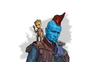 Guardiansofthegalaxy by kanghojeong