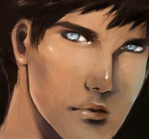 Superboy speedpaint by Shinohahn-chan