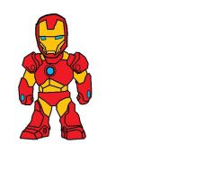 Iron Man 3 Cartoon Drawing