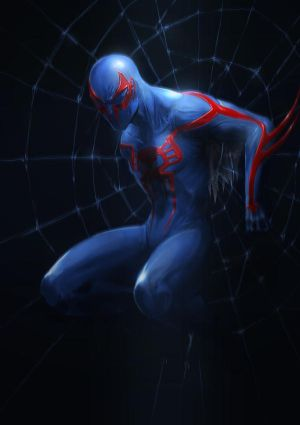 Spidy 2099 by Fenrir--the-2nd