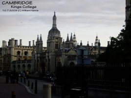 Cambridge - Kings College by Mr-Xvious