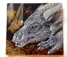 Hoarding Dragon by TinyThumbs