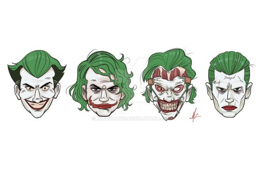 The Joker by mikhdraws