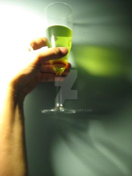 Reflections of Absinthe by hennhaus