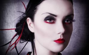 Black and Red by JosephineJonesMUA